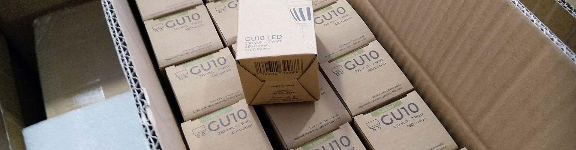 WELL.E.D. GU10-LEDs
